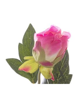 imagem de Ramo Peonía Rosa 76Cm3