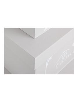 imagem de Set3 Caixas Lovers Retangulares Cinza3