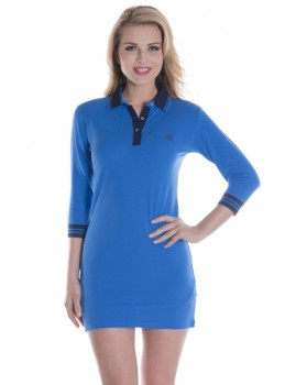 Vestido de Senhora Giorgio di Mare Azul
