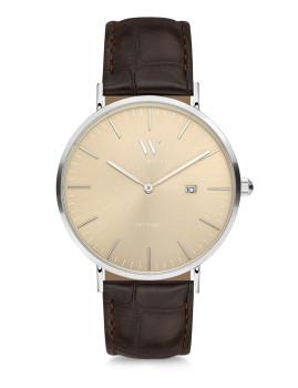 Relógio Love Watch LW2038T Castanho e Amarelo