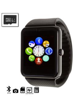 Gt08 Bluetooth Watch + Micro Sd De 16Gb Clase10