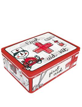 Caixa Metálica First Aid Kit