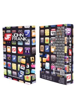 Boxer John Frank Impressão DigitalPreto