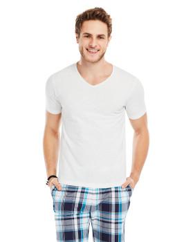 T-Shirt Decote Em V Carenage Smile Branco