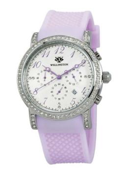 Relógio Wellington Amberley Roxo