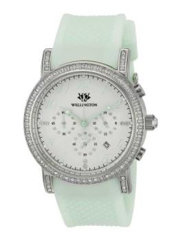 Relógio Wellington Amberley Verde