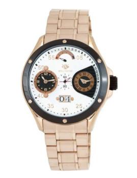 Relógio Wellington Tobermory Dourado Rosa