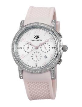 Relógio Wellington Amberley Rosa