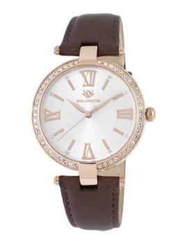 Relógio Wellington Staffa Castanho