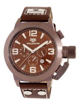 Relógio Wellington Orkney Castanho