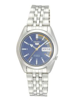 Relógio Seiko 5 Gent Classic Prateado, Cinza e Azul