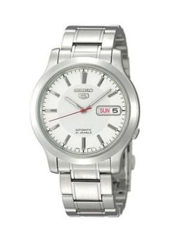 Relógio Seiko Classic 5 Gent Prateado