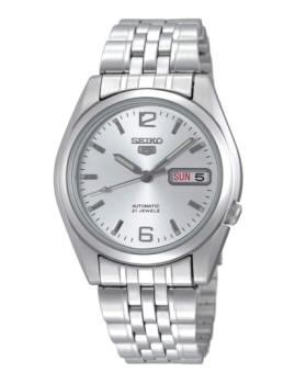 Relógio Seiko Homem Redondo Metálico fundo Cinza