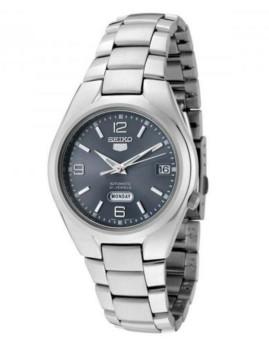 Relógio Seiko 5 Gent Classic Prateado