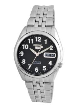 Relógio Seiko prata e preto