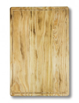Tábua de corte rectangular c/ sulco 45x30x3,5
