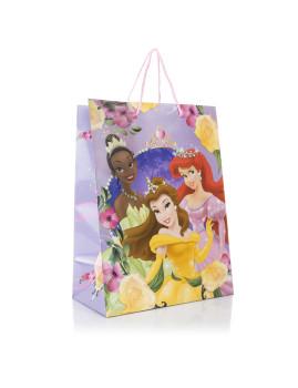 Pack 12x Sacos Papel Med. Princesas Roxo