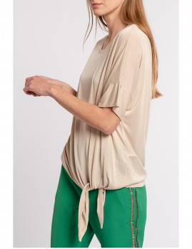 imagem de T-Shirt Senhora Bege2