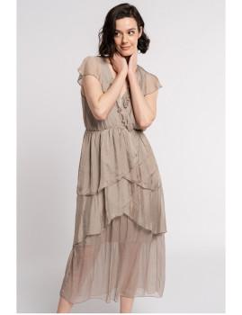 imagem de Vestido Senhora Taupe1