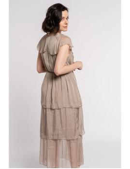 imagem de Vestido Senhora Taupe3