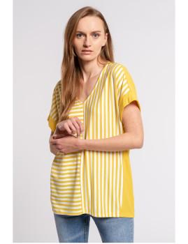 imagem de T-Shirt Senhora Amarelo2