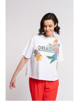 imagem de T-shirt Senhora Branco1