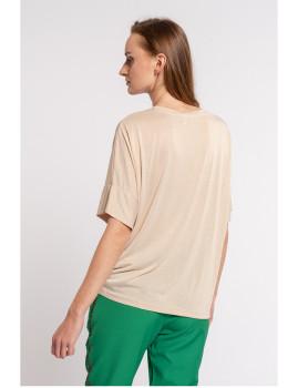 imagem de T-Shirt Senhora Bege3