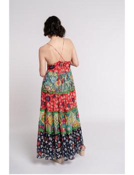 imagem de Vestido Senhora Multicor3