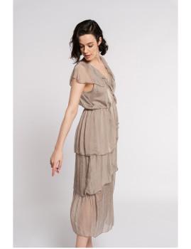 imagem de Vestido Senhora Taupe2