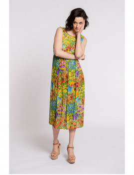 imagem de Vestido Senhora Amarelo1