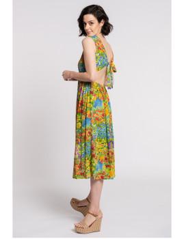 imagem de Vestido Senhora Amarelo2