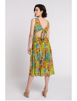 imagem de Vestido Senhora Amarelo3