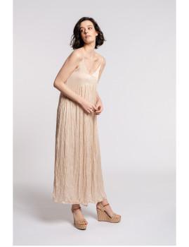 imagem de Vestido Senhora Bege1
