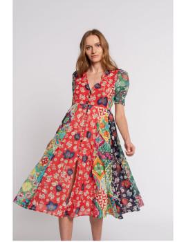 imagem de Vestido Senhora Multicor1