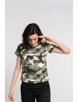 imagem de T-Shirt Senhora Militar1