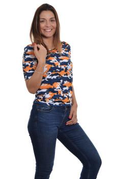 imagem de T-shirt Senhora Padrão Militar1