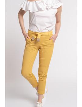 imagem de Calças Senhora Amarelo1