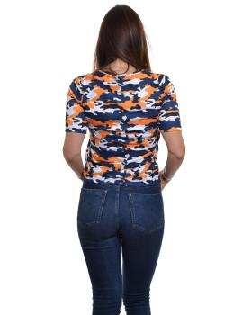 imagem de T-shirt Senhora Padrão Militar2