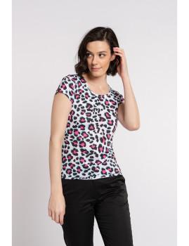 imagem de T-shirt Senhora Padrão Animal1