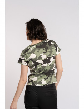 imagem de T-Shirt Senhora Militar3