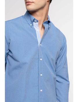 imagem de Camisa Homem Azul Escuro2