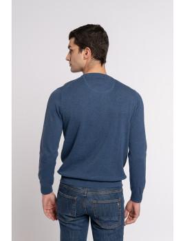 imagem de Camisola Homem Azul Marinho3