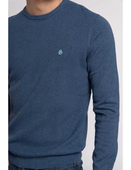 imagem de Camisola Homem Azul Marinho2