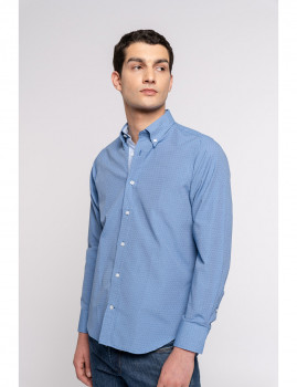 imagem de Camisa Homem Azul Escuro1
