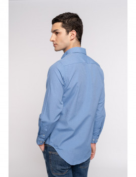 imagem de Camisa Homem Azul Escuro3
