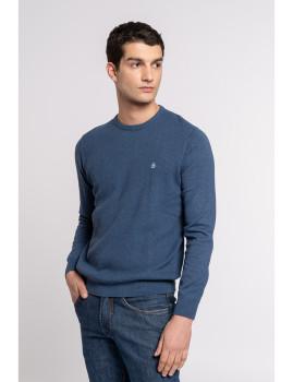 imagem de Camisola Homem Azul Marinho1