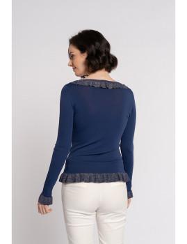 imagem de Camisola Senhora Azul Marinho3