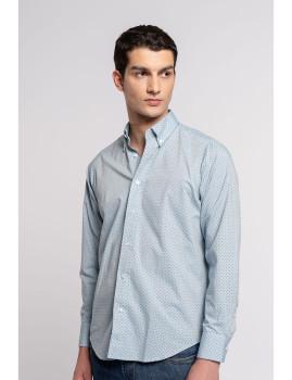 imagem de Camisa Homem Azul Denim1