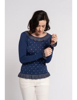 imagem de Camisola Senhora Azul Marinho2