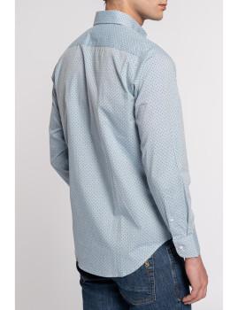 imagem de Camisa Homem Azul Denim3